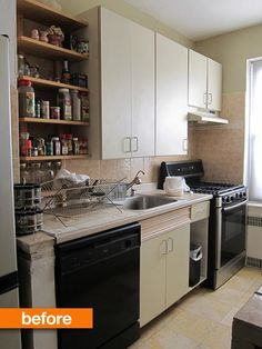 Before & After: Galley Kitchen Gets Budget Makeover — From the Archives: Greatest Hits