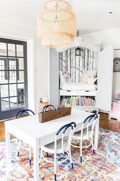 Wardrobe cozy readin