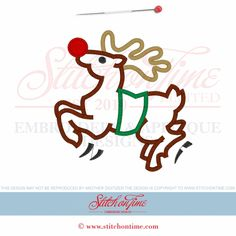 717 Christmas : Reindeer 3 sizes