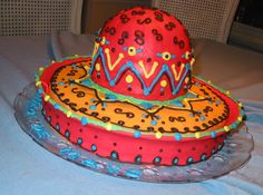 Love this cake! Mexican Army, Mexican Night, Holidays In America, Birthday Party Themes, Theme Parties, Take The Cake, Festival Decorations, Holidays And Events, Cake Pops