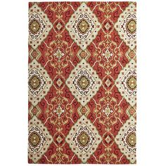 Don't adjust your screen. Our luxuriant rug really is covered in a diamond scroll pattern that looks like a million bucks, but without costing it. And it's even bigger in real life. Lots bigger. Man, the news just keeps getting better and better.