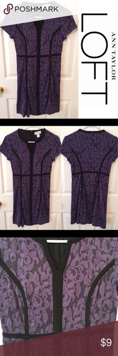 Ann Taylor Loft purple lace dress No known flaws. Alright poshers it is time for my semi annual sale.I have listed a ton of items some may not be brand name and are in good condition others are brand name but have flaws. All items are shown as is and no measurements will be provided (as these are rapid sale items) there will be no frills or thrills in packaging but you will be getting an awesome deal!  ALL SALE PRICES ARE FIRM AND OFFERS WILL NOT BE ACCEPTED. Thank you everyone and happy…