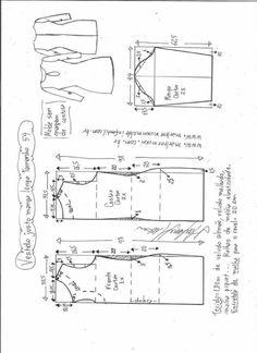 Patrón vestido ajustado de manga larga Patrón para hacer un lindo vestido ajustado con manga larga. Tallas desde la 36 hasta la 56.   Talla 36: Talla 38: Talla 40: Talla 42: Talla 44: Talla 46: Talla 48: Talla 50: Talla 52: Talla 54: Talla 56: Fuente:http://www.marlenemukai.com.br/ Patrón de vestido boho con manga de …