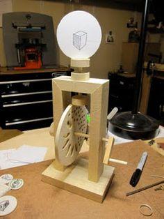 WONDER OBJECT: thaumatrope machine project