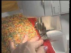 Comment coudre à la surjeteuse et en vidéo (1). - Elkalin. Couture, broderie main et machine.