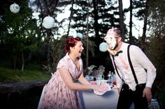 Engagement food fight! (Hilary Cam Photography)