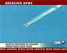 Columbia space shuttle disaster -