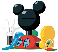 Mickey Mouse Club House Clip Art FREE