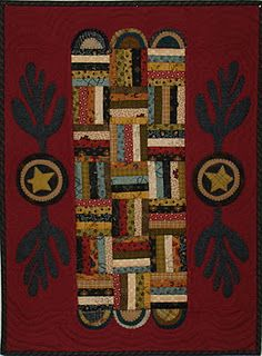 From Primitive Quilts and Project Winter 2011 issue. Very fun and quick to make.