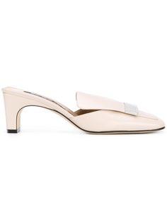 Gianvito Rossi Woman Capri Patent-leather Slides Neutral Size 39 jsN37