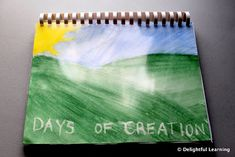 Watercoloring Through the Days of Creation - Delightful Learning