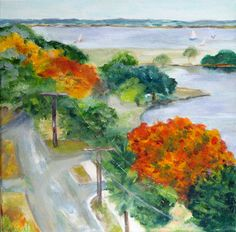 """Above Charleston""  24 x 24 Gallery Wrap"