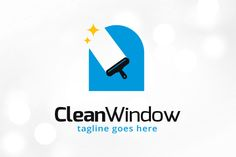 Clean Window Logo Template by Graphics Author