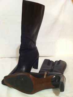 Anne Klein Boots, Mid Calf in Patti's Garage Sale Cleveland, TN for $18.00. Anne Klein Black boots, Excellent condition. Zips up the side, square toe. Pricing does not include shipping