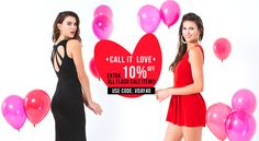 STARTS TODAY!  Get your EXTRA 10% off ❤️ Our Valentine's Day Special!  ➡️ https://levixen.com/FLASH-SALE/  #LeVixen #WomensFashion #SexyDresses #ValentinesDay #OOTD #Fashion #Style #FlashSale #TGIF #Sale