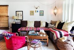 Moroccan lounge area