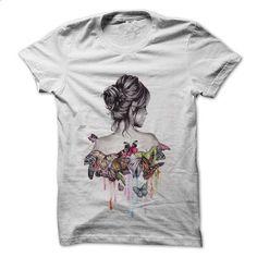 camisa a garota das borboletas