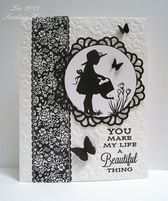 Flourishes Black and White challenge by quilterlin, via Flickr