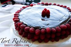 Best cake with chocolate. Chocolate cake with raspberries. Chocolate Raspberry Cake, Best Chocolate Cake, Chocolate Art, New Recipes, Favorite Recipes, Let Them Eat Cake, Cake Decorating, Cheesecake, Food Porn