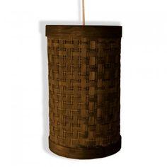 Sq.Net Cylinder Lamp(O.Brown) from KraftInn