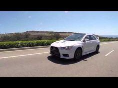 2015 Mitsubishi Lancer Evolution Final Edition video debut - YouTube