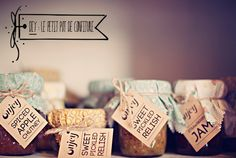 1000 images about confiture mariage on mariage pots and liberty