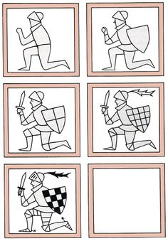 Resultat d'imatges de how to draw a medieval knight Cc Drawing, Knight Drawing, Drawing Sheet, Knight Art, Drawing Lessons For Kids, Art Lessons, Cartoon Drawings, Easy Drawings, Medieval Art