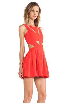 Lovers + Friends Cutting Corners Dress in Poppy | REVOLVE