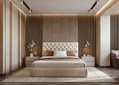 Modern bedroom design - 4 Principles for Creating the Perfect Bedroom Luxury Bedroom Design, Master Bedroom Interior, Bedroom Bed Design, Modern Master Bedroom, Contemporary Bedroom, Home Bedroom, Master Suite, Modern Luxury Bedroom, Bedroom Designs