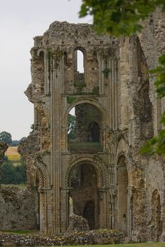 Castle Acre Priory, Norfolk, England by Steven J Lewis