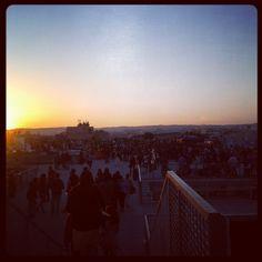 Sun set à La Friche de la Belle de Mai