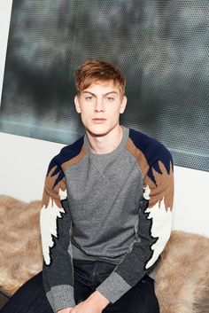 super cute sweater Paul & Joe Fall 2015 Menswear - Collection - Gallery - Style.com