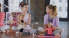Girls dance with their American Girl Dolls Isabelle, the 2014 Girl of the Year. Visit her world, only at American Girl.- iSpot.tv