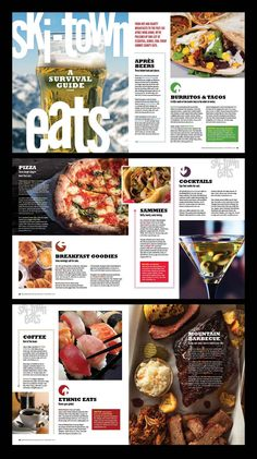 brochure design ideas 2018 new breckenridge magazine yearbook 2018 2019 of brochure design ideas 2018 Food Magazine Layout, Magazine Layout Design, Book Design Layout, Newsletter Layout, Newsletter Design, Newspaper Layout, Newspaper Design, Web Design, Food Design