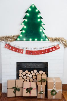 DIY Marquee Christmas Tree - The Sweetest Occasion — The Sweetest Occasion