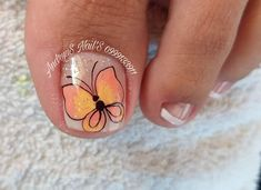Butterfly Nail Art, Nail Designs, Lily, Instagram, Crochet, Toenails, Mariana, Templates, Frases