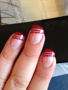 Christmas wedding nails