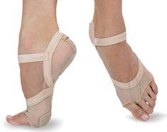Ref: H07FB    Capezio's new full body footundeez with barely there design. This shoe has added protection and arch support.