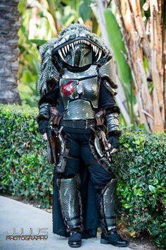 Star Wars Celebration 2015 - Bel'amere Nehutyc (custom Mandalorian by DesertFoxx Productions) #mando #starwars #cosplay