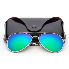 8579f3befb1a ANMIX Aviator Polarized Sunglasses for Men Women with Eyeglasses Case UV  400     Click image for more details.Note It is affiliate link to Amazon.