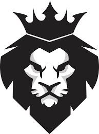 Black lion king PNG and Vector Leon Logo, Logo Lion, Logo Inspiration, Logo D'art, Logo Animal, Black And White Lion, Lion Vector, Vector File, Svg File