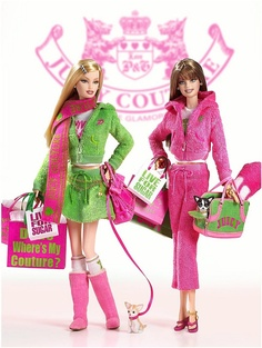 2005 Barbie Juicy Couture - Gold Label
