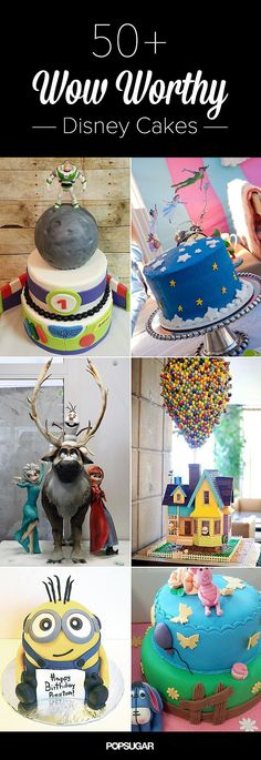 Make It a Magical Day! 50 Wow-Worthy Disney Cakes