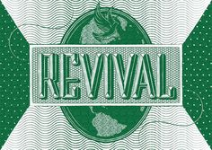 Revival #art #design #drawing #type #illustration #typography #lettering