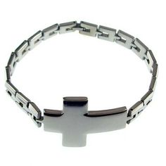 Wholesale Stainless Steel cross tag bracelets for men #a009 : OK Charms, China Wholesale Jewelry Accessories Marketplace