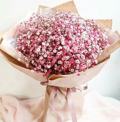 Pink Gypsophila - Soft to deep pinks May Flowers, Fresh Flowers, Beautiful Flowers, Bride Bouquets, Floral Bouquets, Flower Tea, Flower Crown, Gypsophila, How To Preserve Flowers