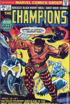 champions marvel comics | Champions (1975 Marvel) comic books