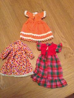 moni dolls clothes x 3 dresses very good condition | eBay