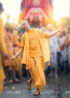 Only a disciplined disciple develops love for Krishna Purushottam Nitai Das: We are so serious, so enthusiastic and so happy when we are just about to receive the beads from our spiritual master du…