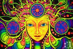psychedelic and art image